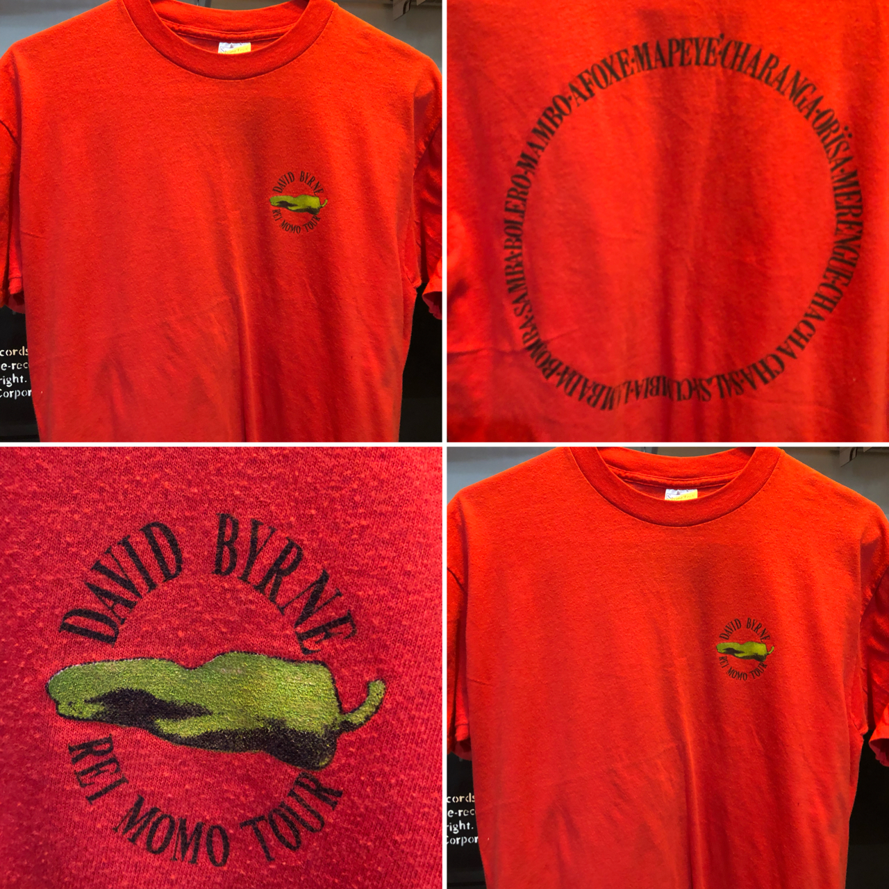 One-of-a-kind RARE T-Shirts! Always changing with new selections monthly!