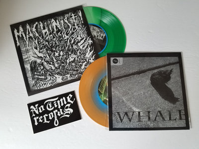 Machinist! / Dying Whale - Split 7