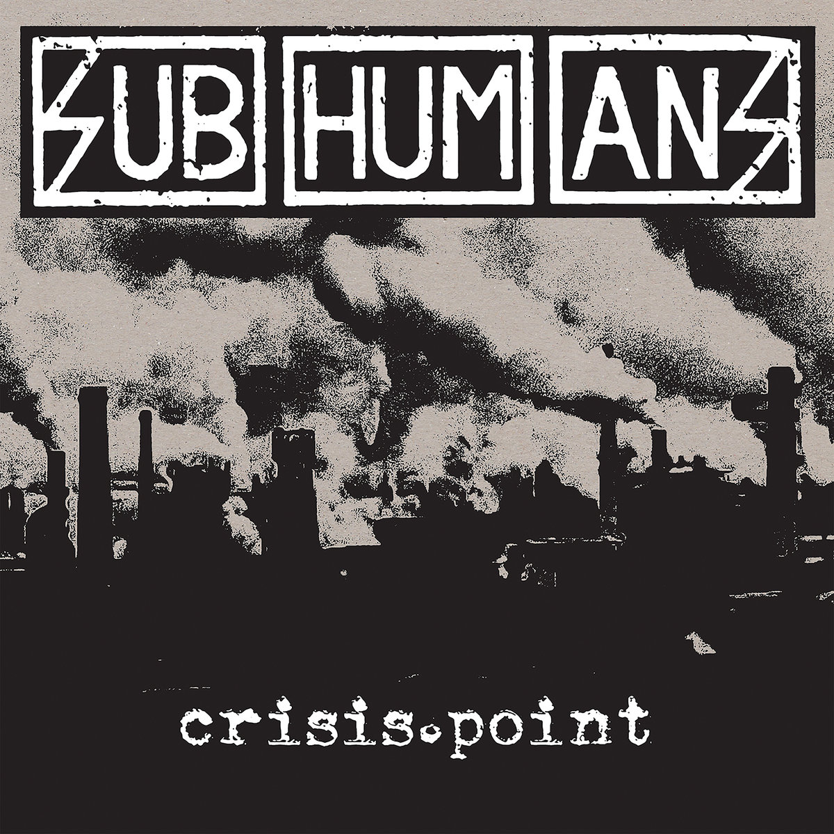Subhumans - Crisis Point LP