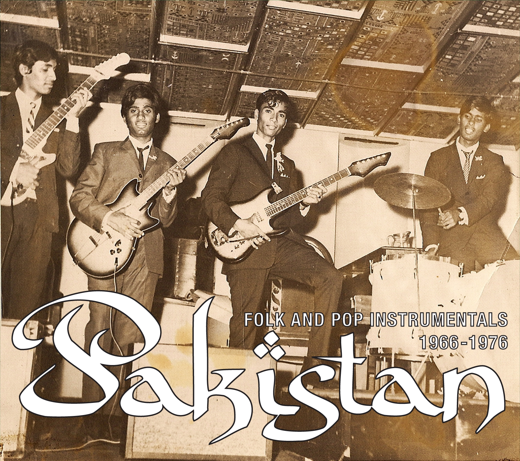 PAKISTAN: Instrumental Folk & Pop Sounds, 1966-1976