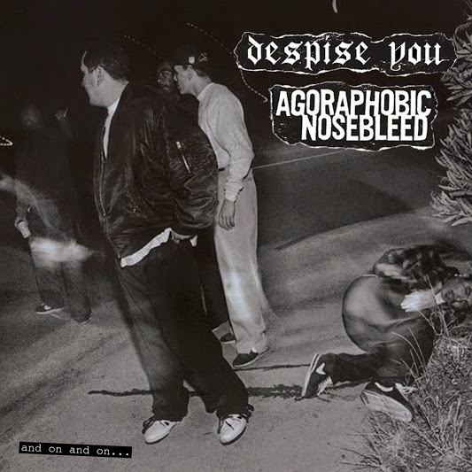 Despise You / Agoraphobic Nosebleed - And On And On... LP