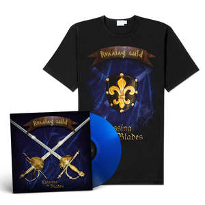Running Wild - Crossing The Blades (Vinyl-EP+Shirt