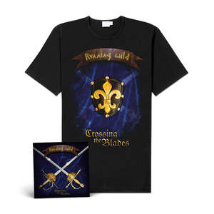 Running Wild - Crossing The Blades (CD-EP+Shirt
