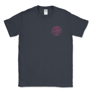 Dark Heather Chest Logo T-Shirt