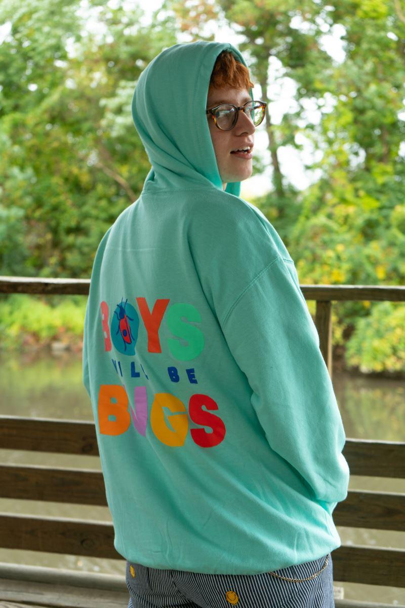 Boys Will Be Bugs Hoodie