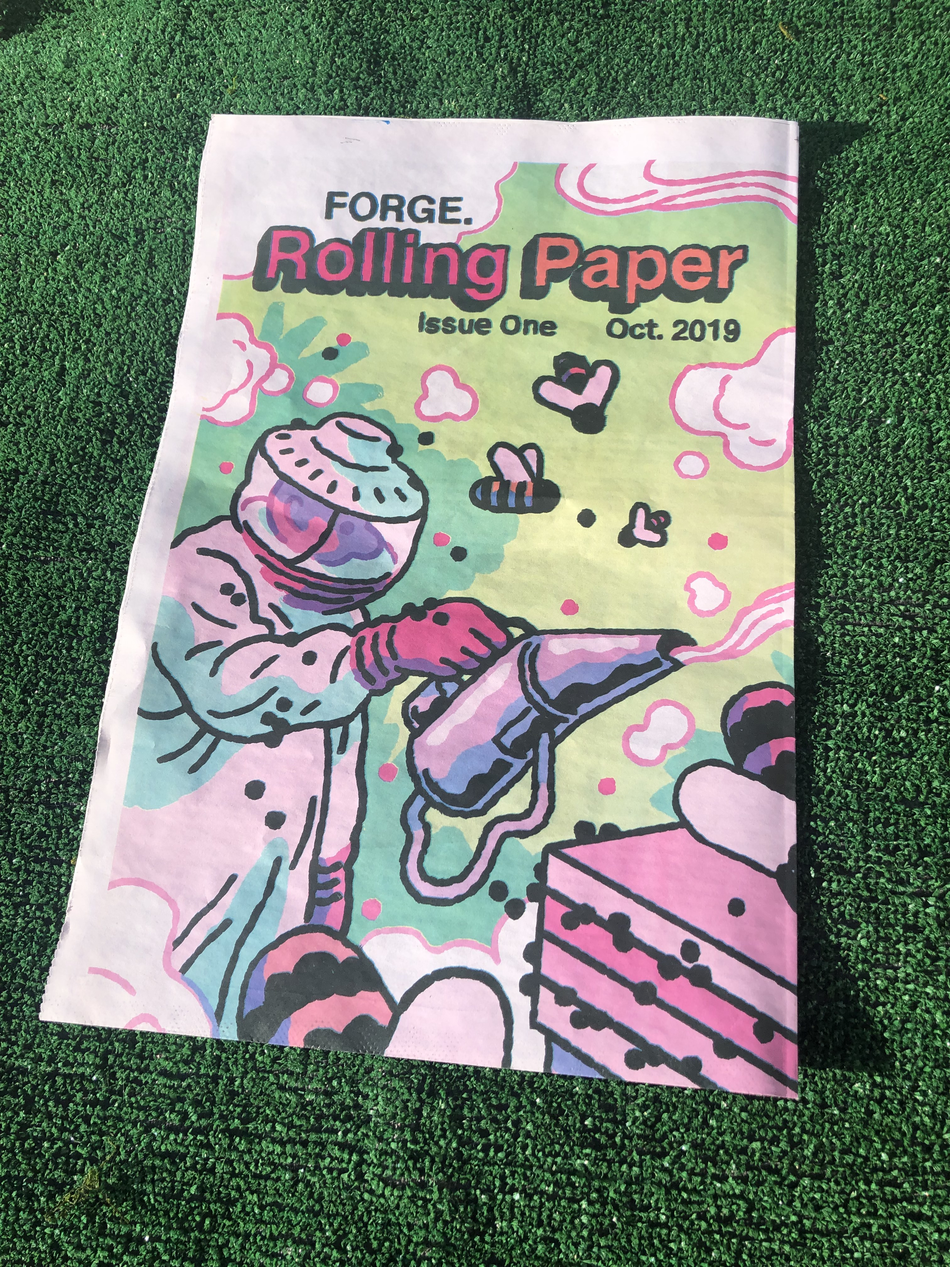 FORGE Rolling Paper Issue One (Two Copies)