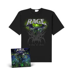 Rage - Wings of Rage (CD+Shirt