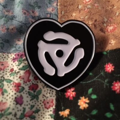 Sell The Heart Records Logo Enamel Pin