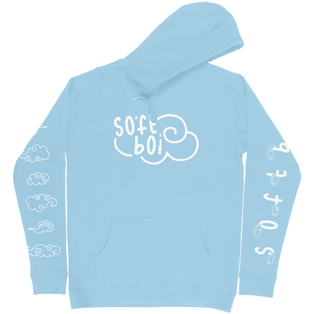 Soft Boi Hoodie - Light Blue