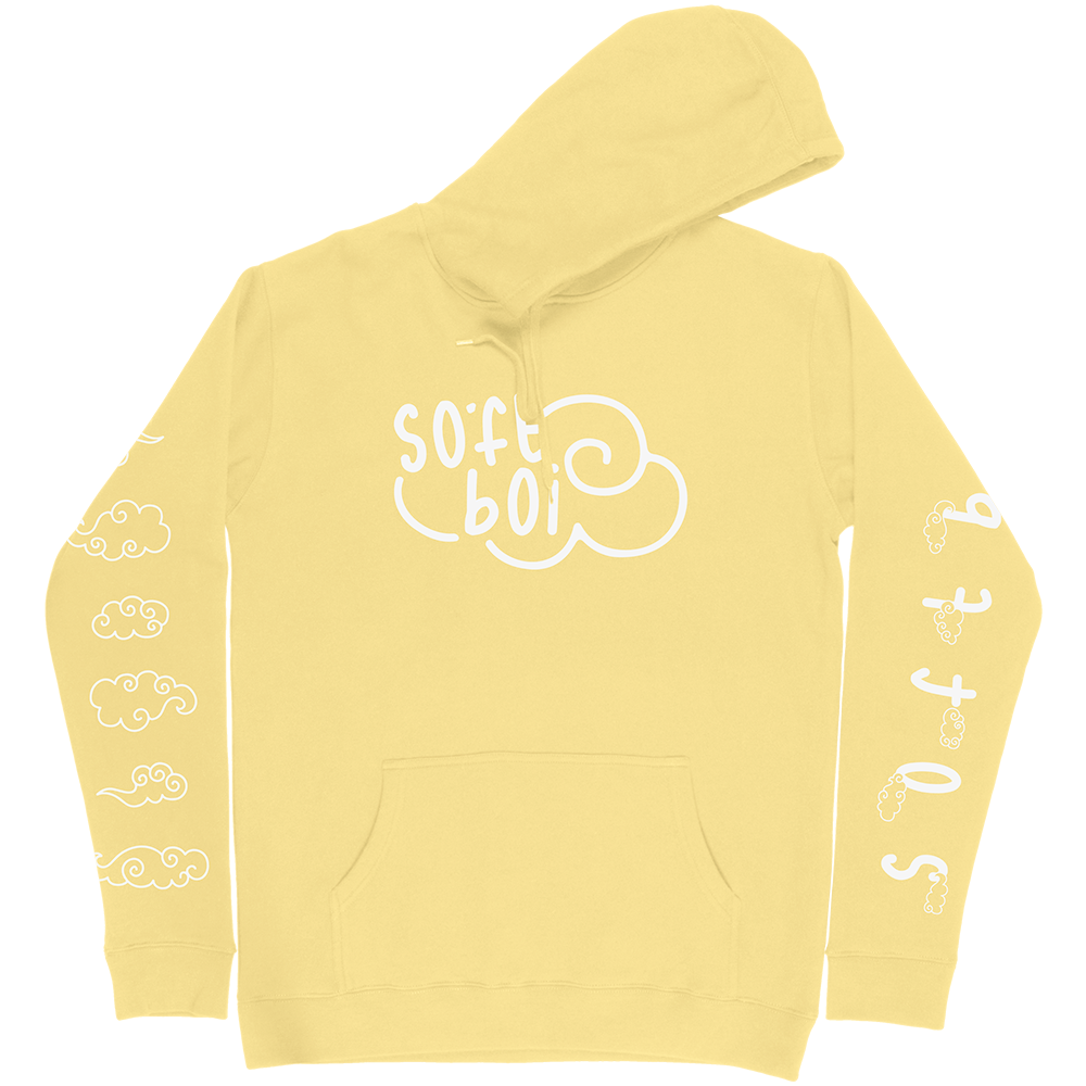 Soft Boi Hoodie - Light Yellow