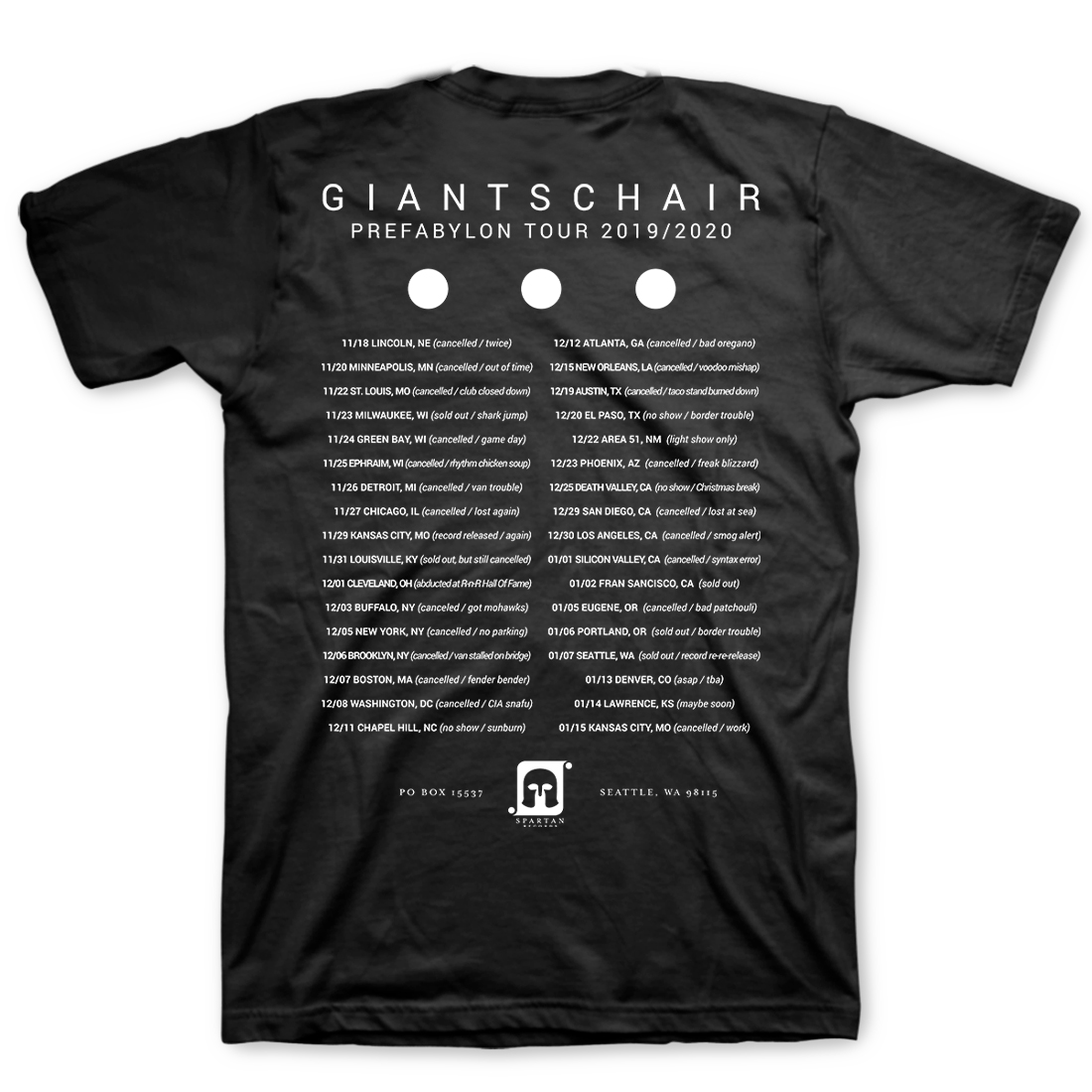 Giants Chair - Prefabylon T-Shirt