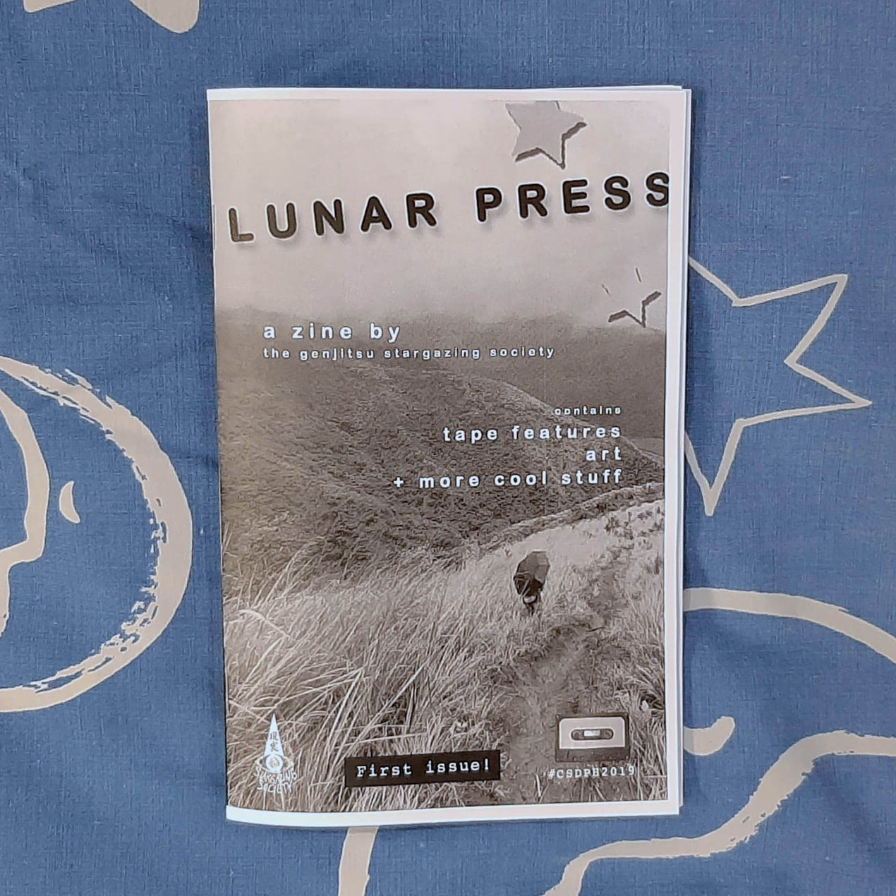 LUNAR PRESS ZINE - Issue #1 (Genjitsu Stargazing Society)
