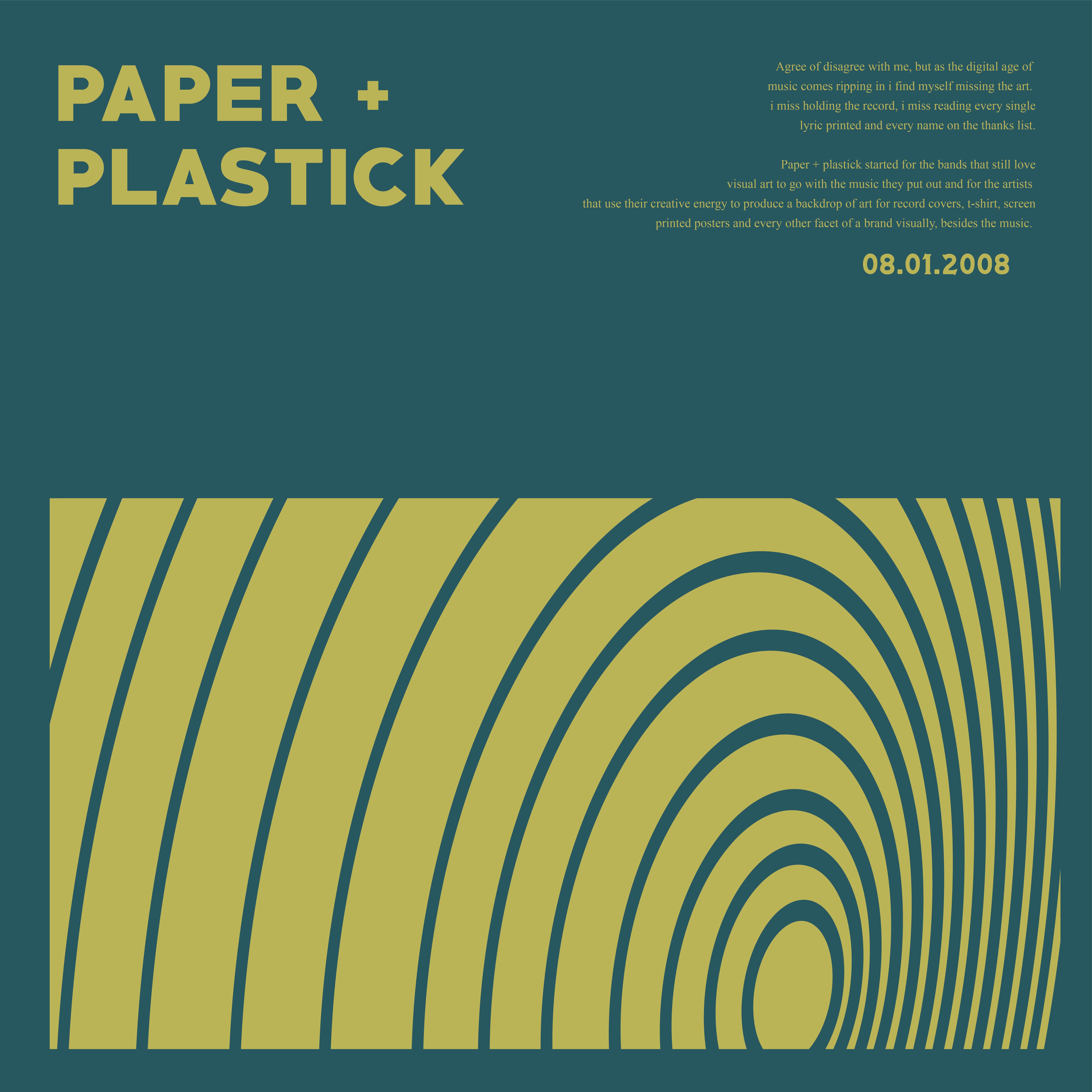 2019 PAPER+PLASTICK x FEST Digital Sampler