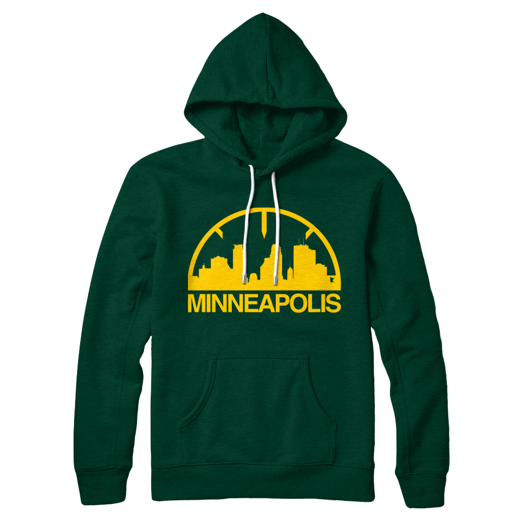Sonic Pullover Hoodie - Green/Gold