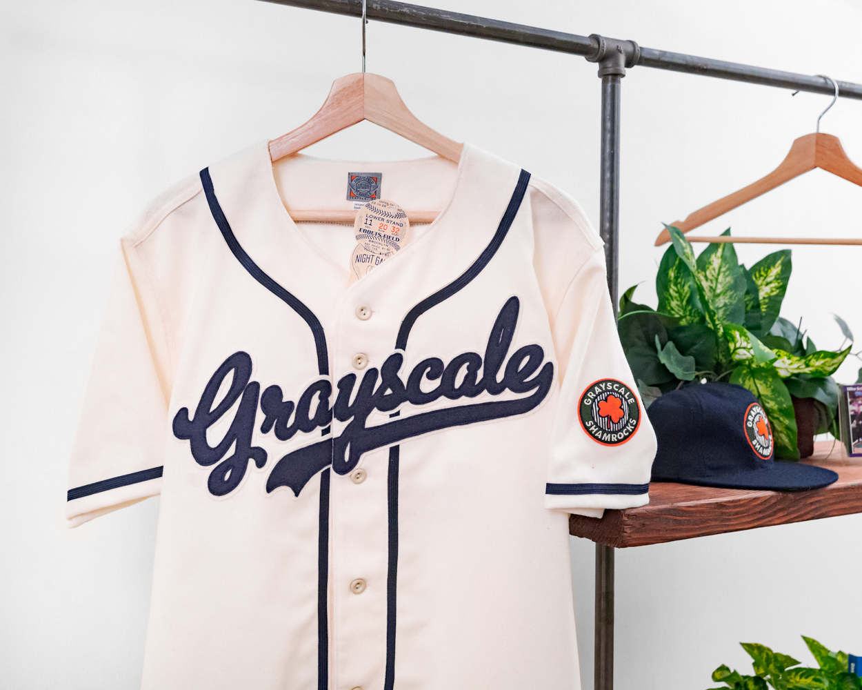 Vintage Shamrocks Baseball Jersey