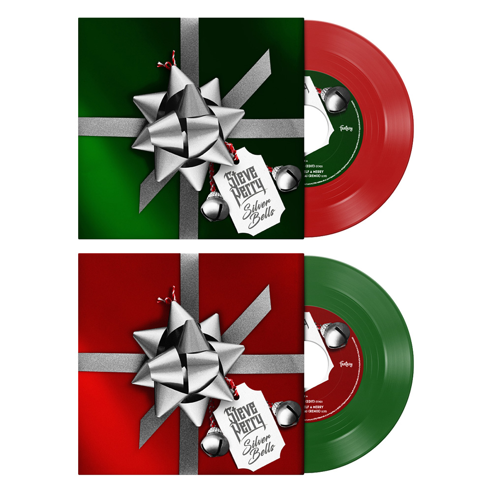 "Red or Green ""Silver Bells"" 7"""