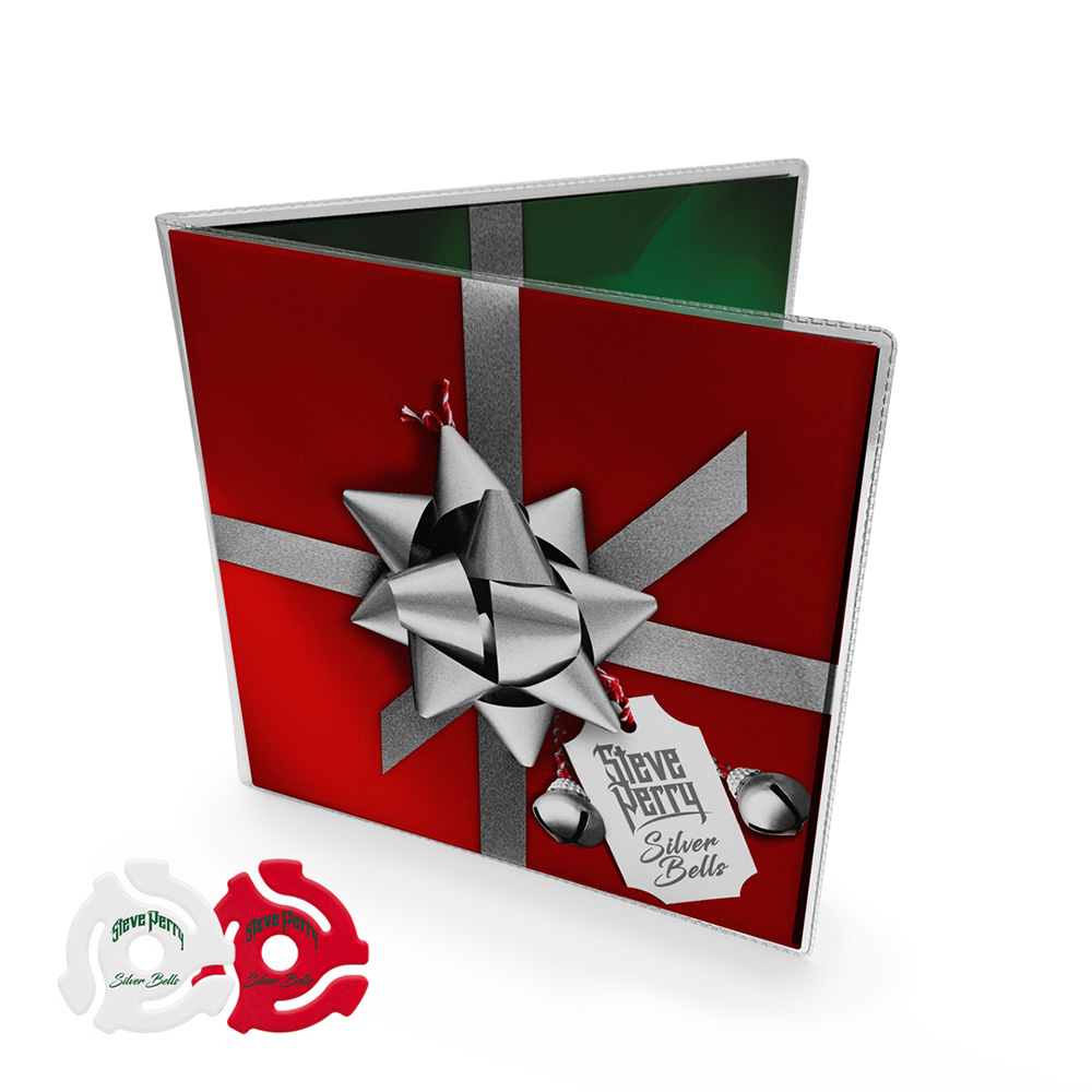 "Signed ""Silver Bells""/""Have Yourself A Merry Christmas"" Double 7"" Vinyl Package + 2 Adapters"