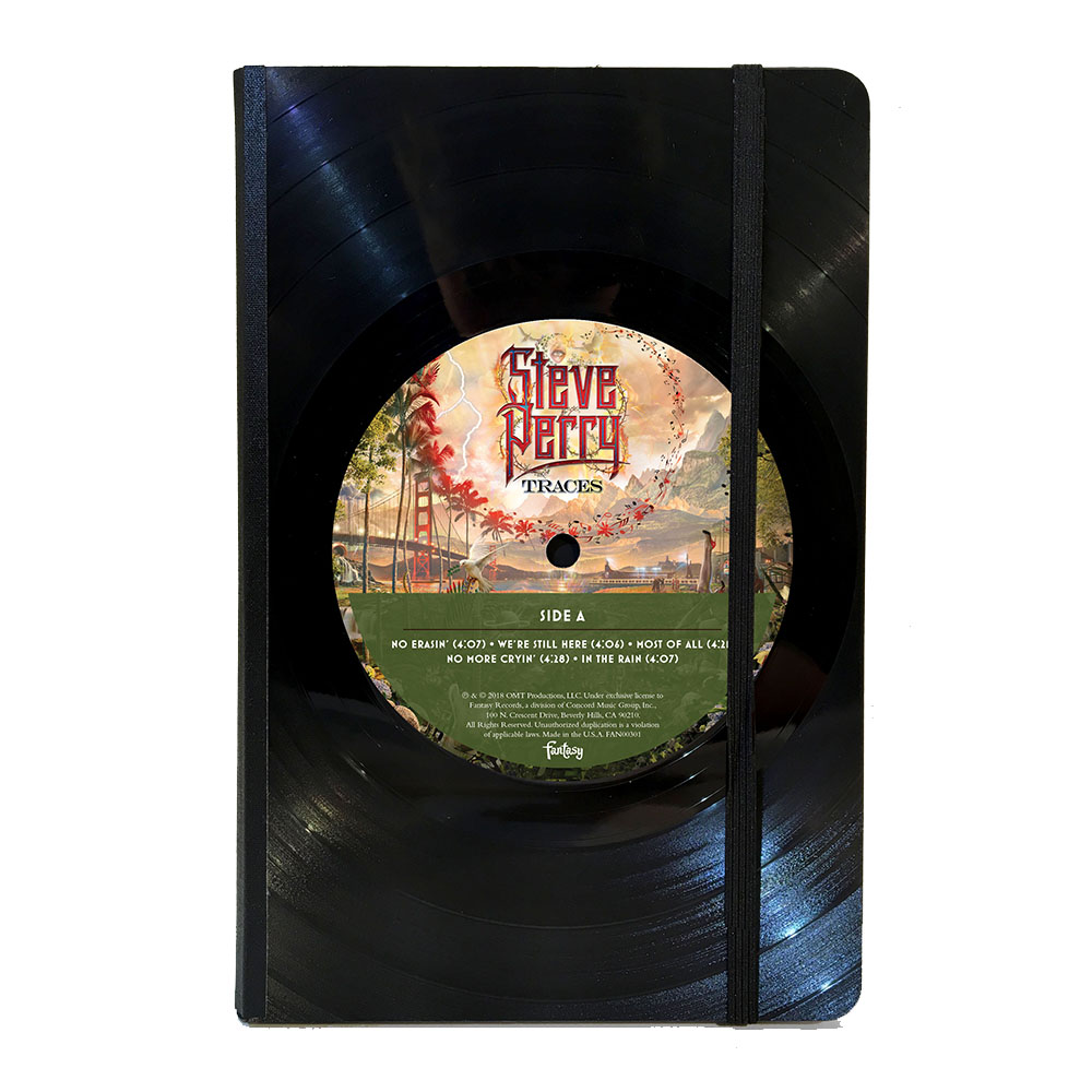 """Traces"" Vinyl Journal (6""x8"") + Vinyl/CD/Download (optional)"