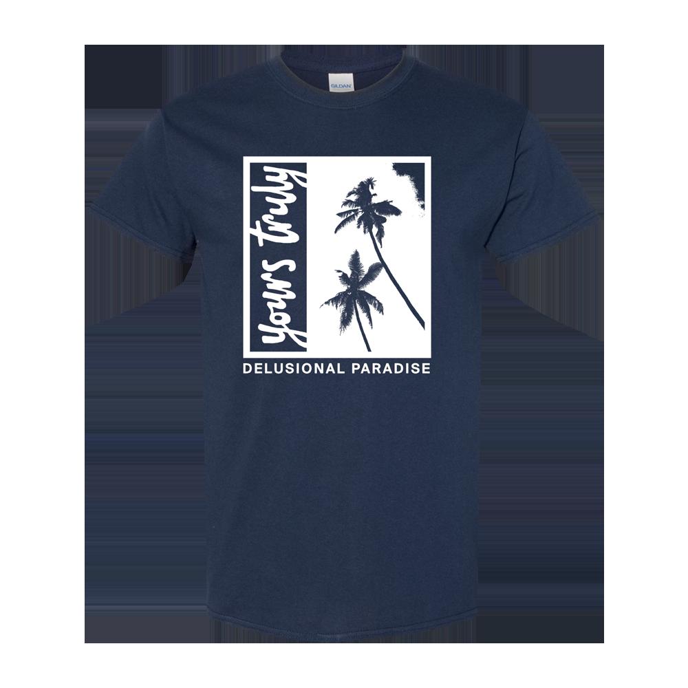 Palm Tree Tee (Navy)