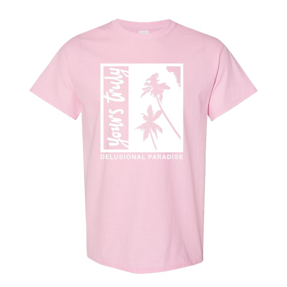 Palm Tree Tee (Pink)