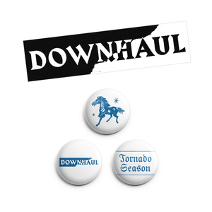 Downhaul - Pins & Sticker