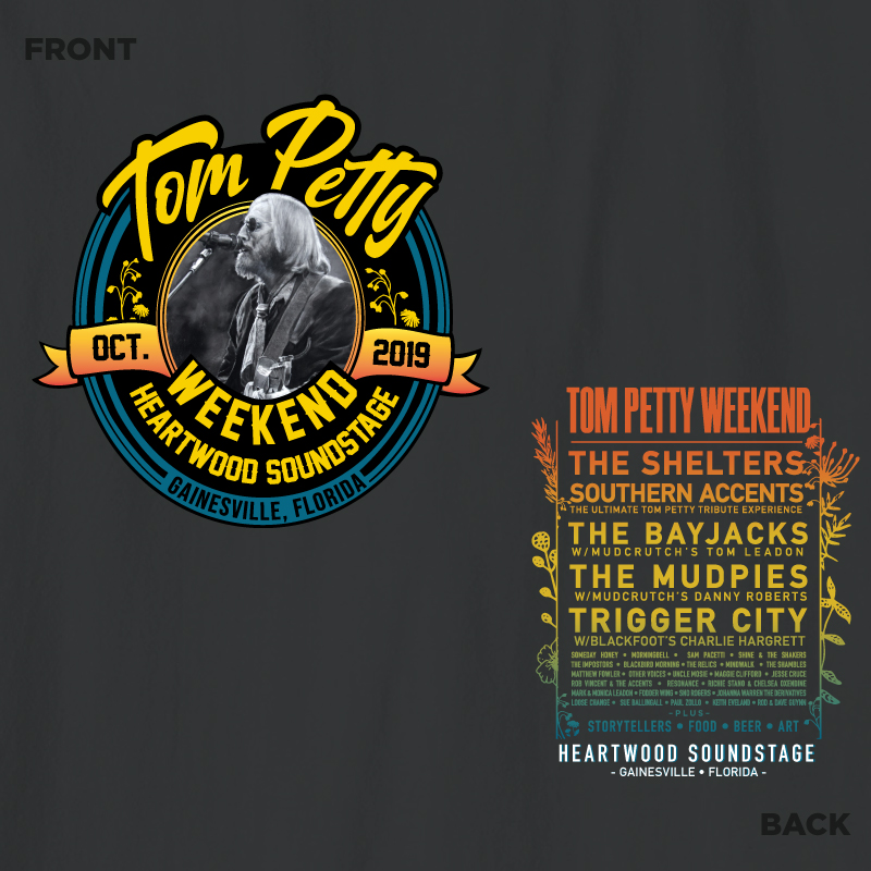 Tom Petty Weekend 2019 Official T-Shirt