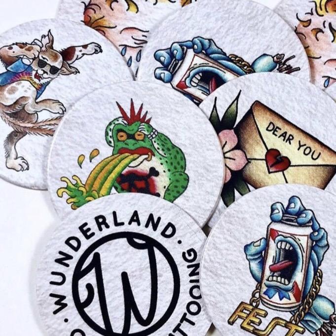 Wundeerland Tattoo  FEST 18 Artist Pogs