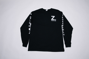 ZETA Venezziola Black Long Sleeve T-Shirt