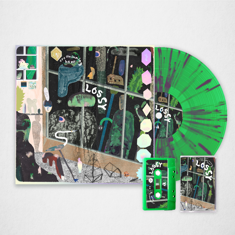 LOSSY // Bundle 1 - Two Tone Splatter Vinyl + Cassette