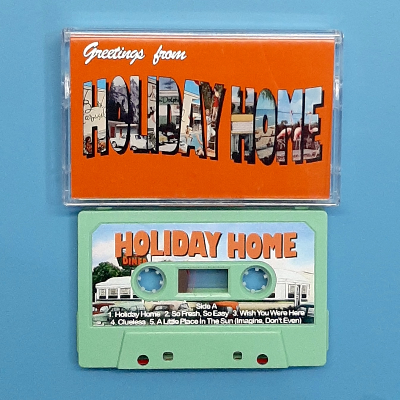 Holiday Home - Greetings From (Z Tapes)