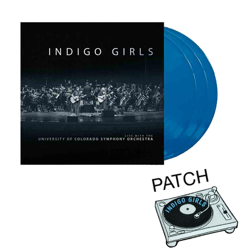 """Woven Blanket (50""""x 50"""") + Live 3xLP Vinyl/2xCD/22-Track Download (optional)"""