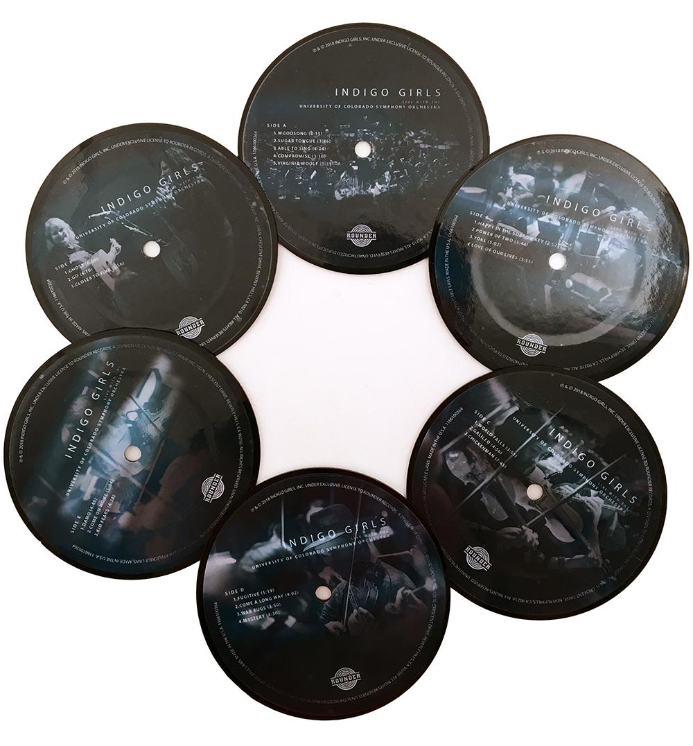 Sublime Bundle: Woven Blanket + Symphony Mug + Navy/Reef Socks + Mirror Image Navy Tee Shirt + Large Vinyl Journal + Vinyl Coasters