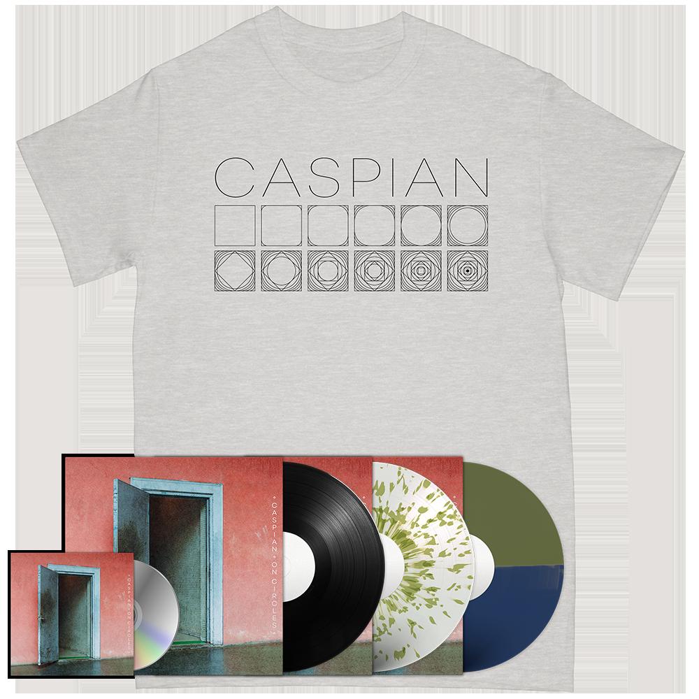 Caspian Grey Circle Tee + On Circles