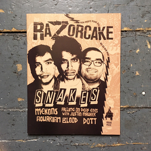 Razorcake #113, Subscriptions & Back Issues