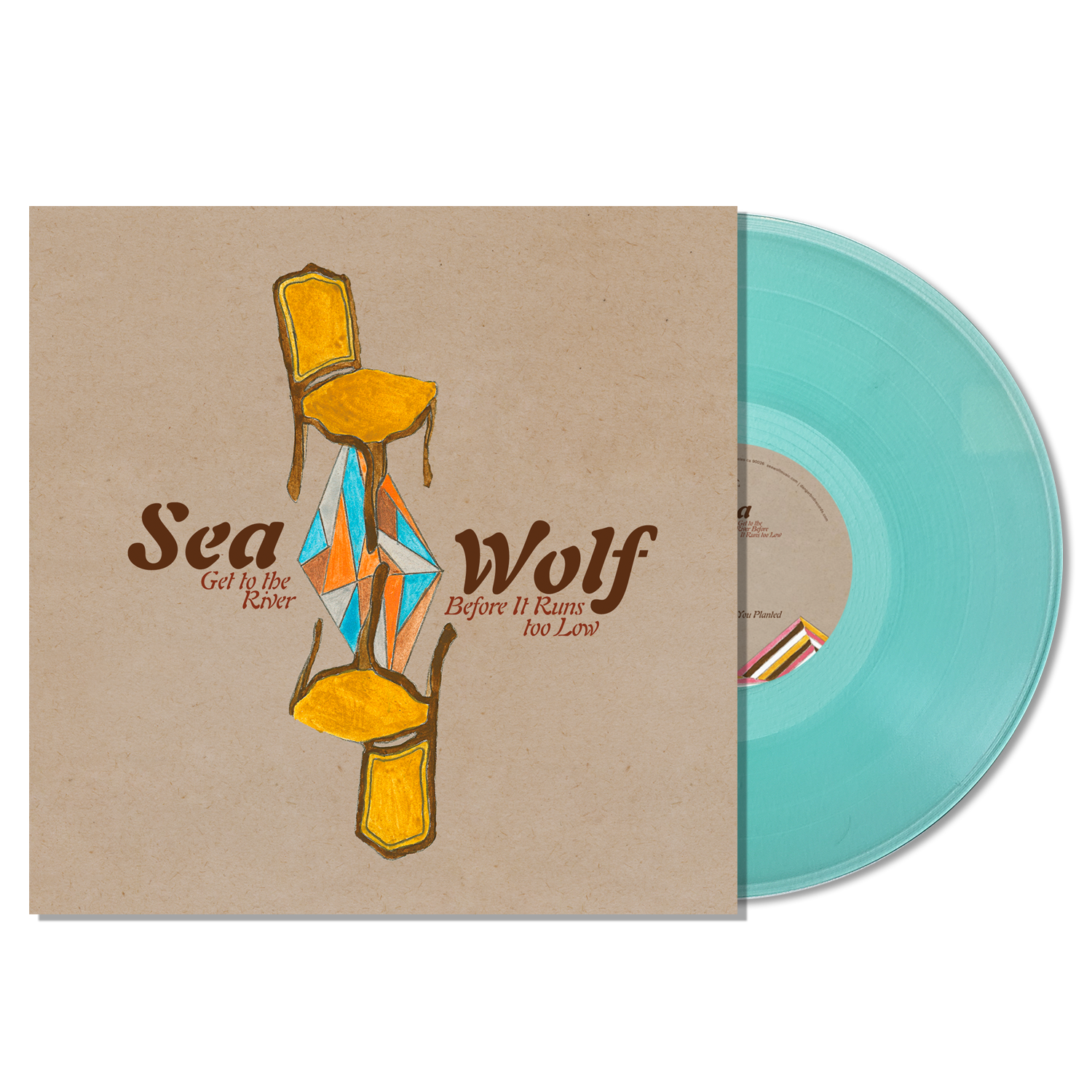Sea Wolf - Get To The River Before It Runs Too Low EP - Sea Glass Colored Vinyl