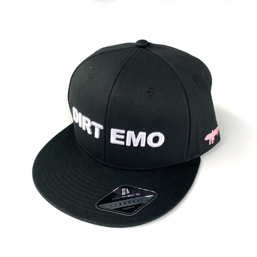 """""""Dirt Emo"""" Cap + """"Dirt Emo"""" Socks + Dirt Emo Vol 1. Neon Green Vinyl or download (optional)"""
