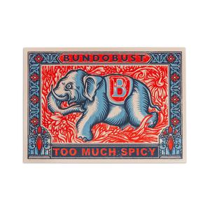 Elephant - A2 Screen Print (Liverpool)