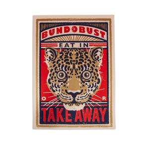 Leopard - A2 Screen Print (Liverpool)