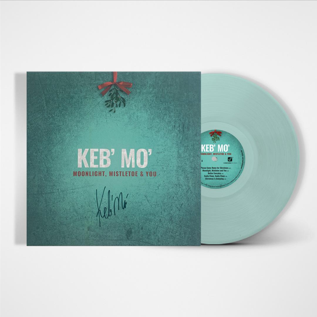 Signed or Unsigned Exclusive Translucent Blue Vinyl LP