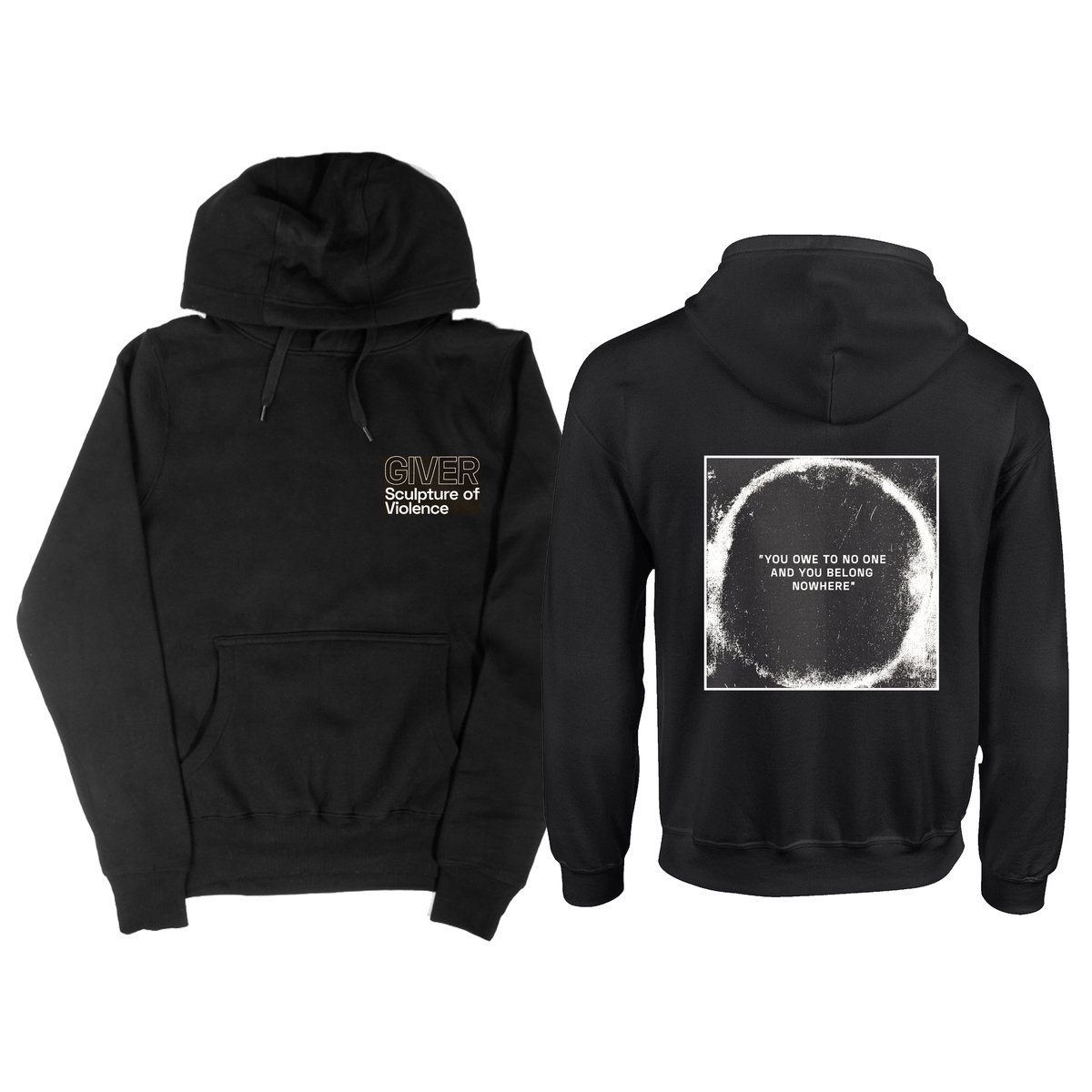 Giver - Sculpture Of Violence hoodie PREORDER