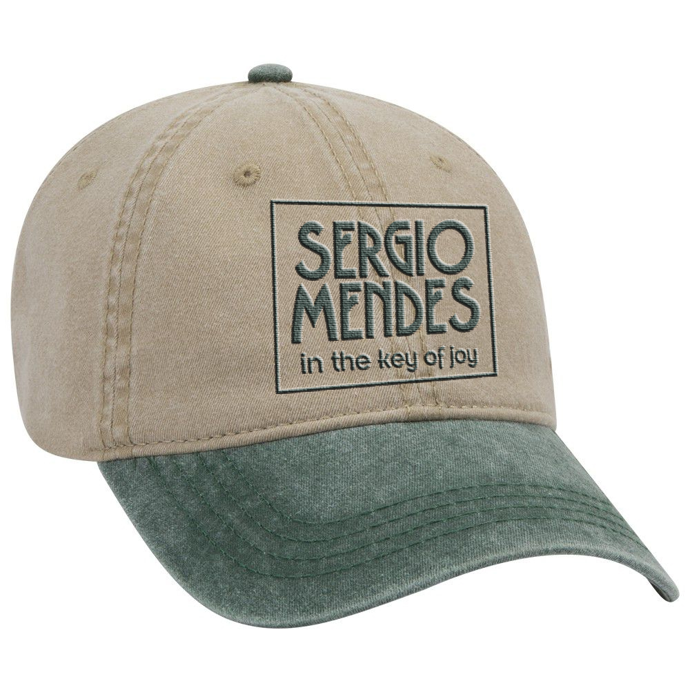 Pigment dyed embroidered cap + vinyl/cd/album download (optional)