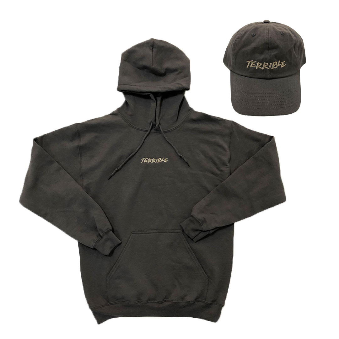 Terrible Fall Hoodie and Hat Bundle