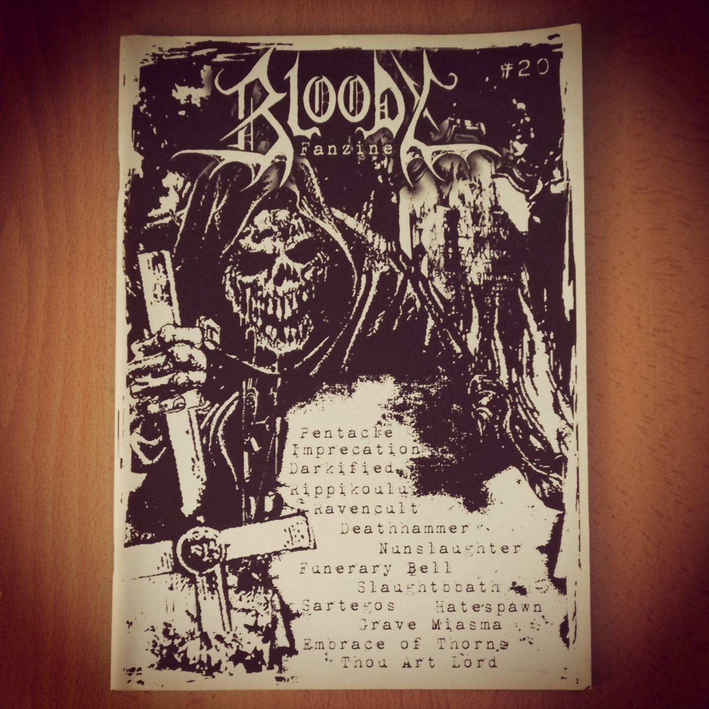 BLOODY FANZINE # 20