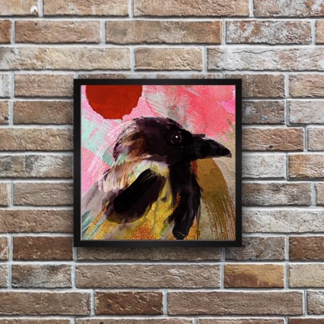 Majestic Crow Print