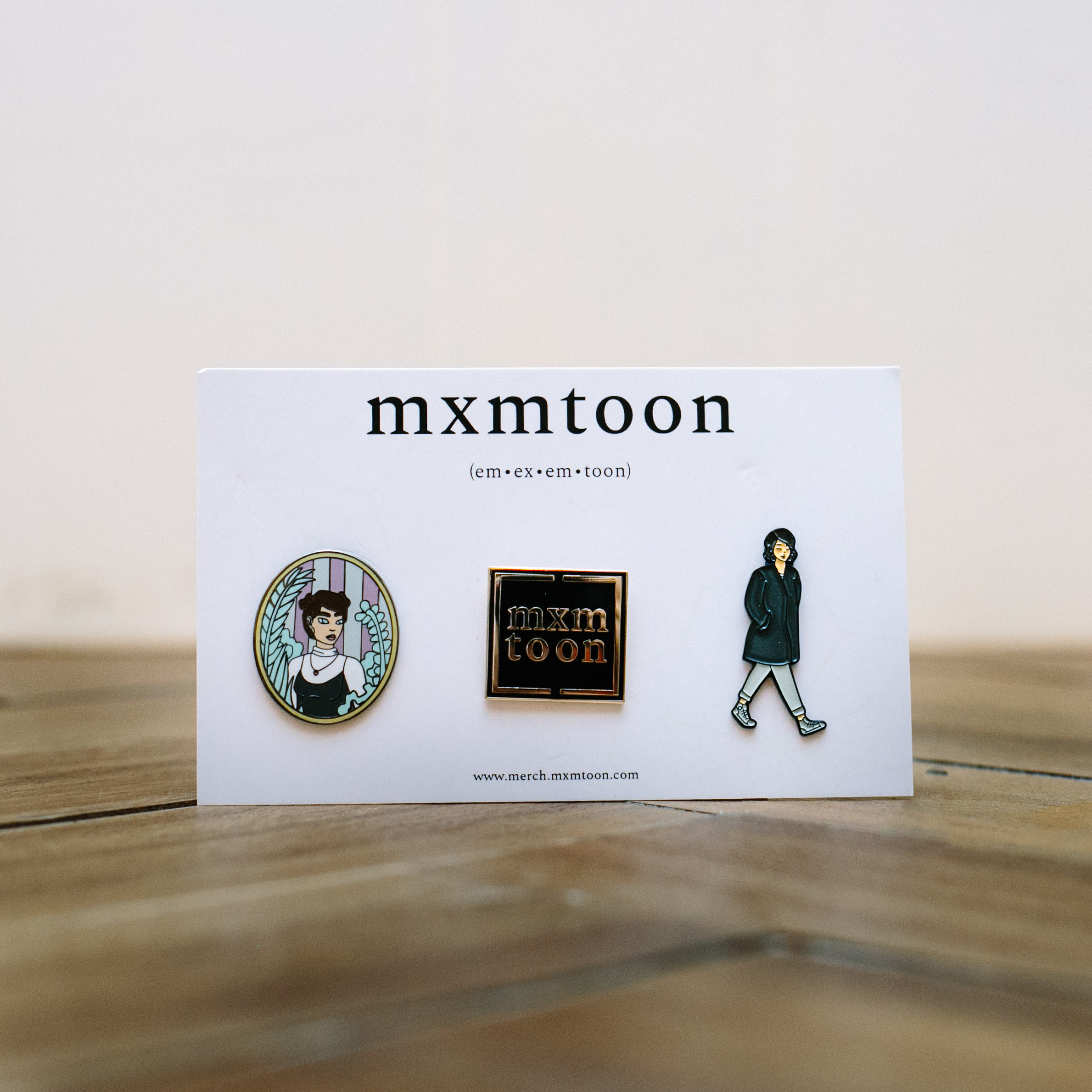mxmtoon Pin Set + Digital Download