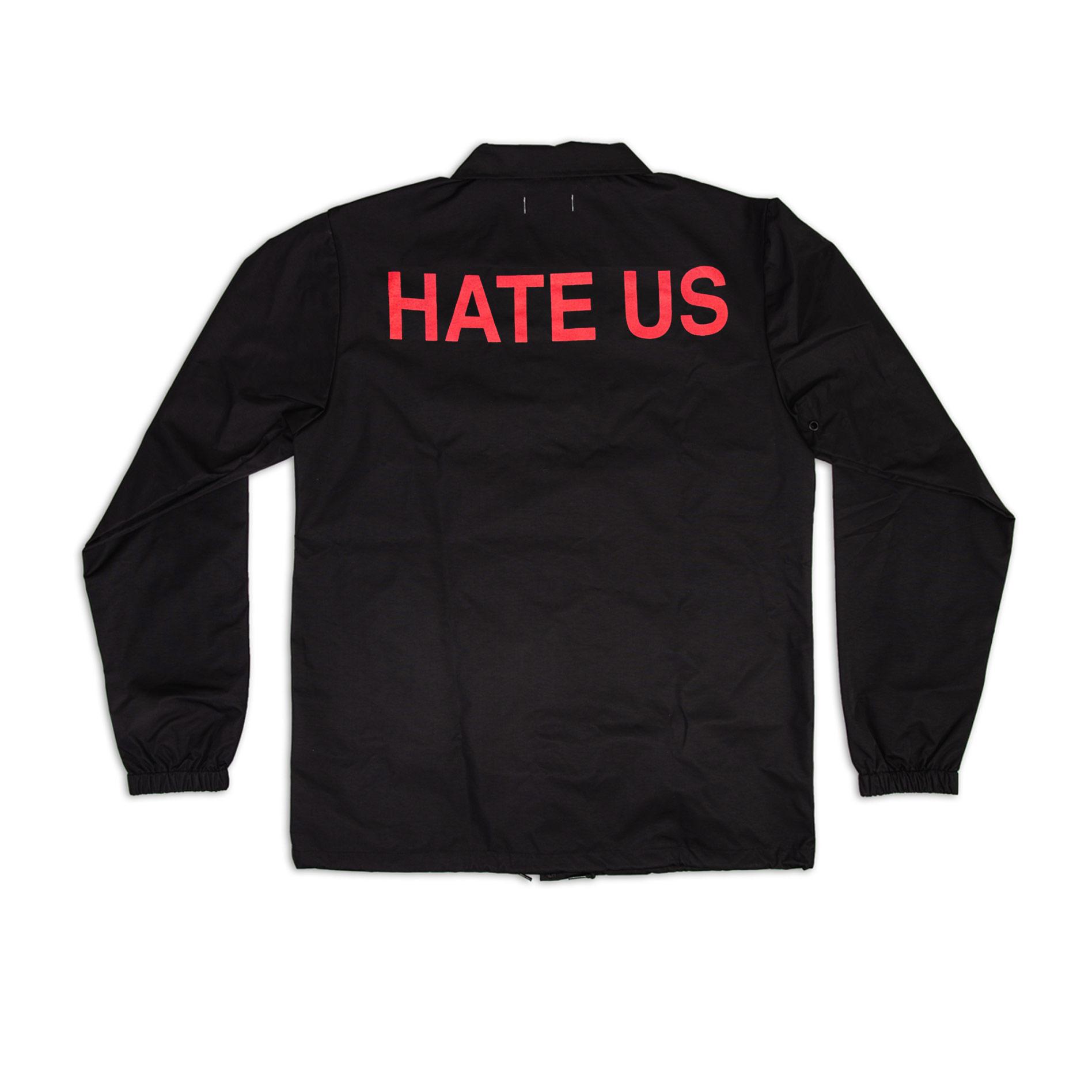 HATE US COACH JACKET