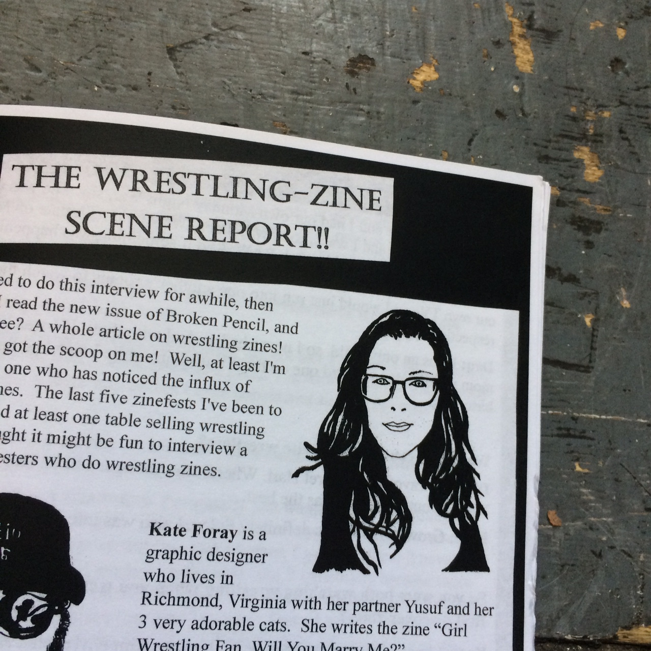 Behind the Zines: A Zine About Zines #8 & Back Issues