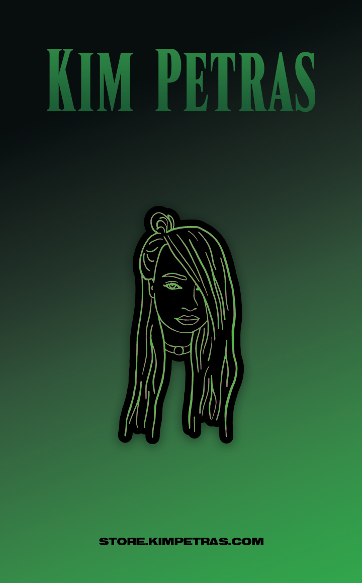Green Enamel Pin