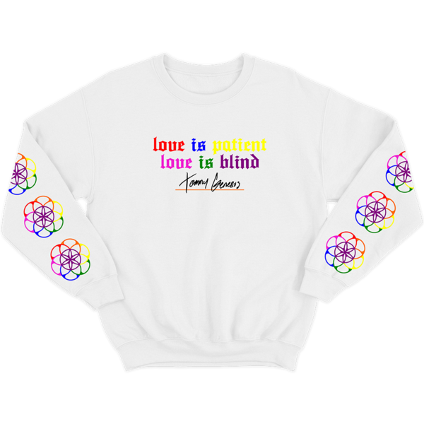 Love Is Patient Crewneck