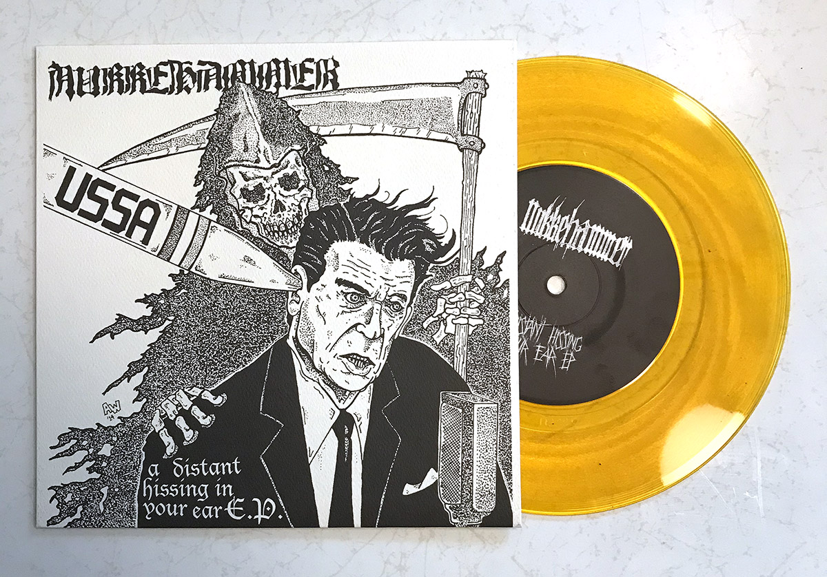 NUKKEHAMMER - A Distant Hissing In Your Ear 7